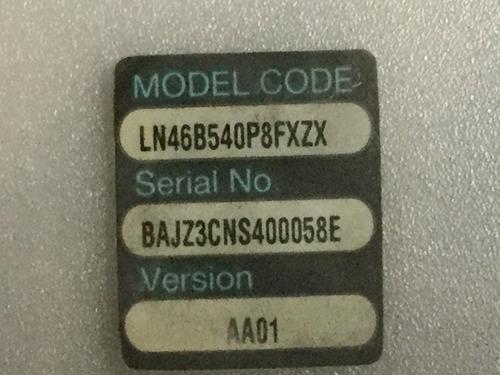 1o* samsung ln46b540p8fxzx inverter v235-10d 4h+v2358.461/v