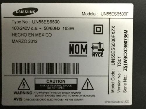 1o* samsung un55es6500 wifi joystick cables lv bluetooth