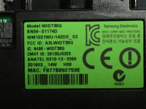 1o* samsung un55ku6000f  kit  wifi joystick ir cables
