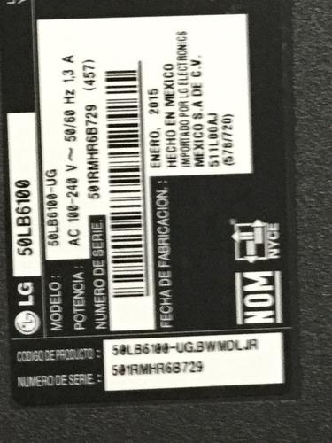 1o* tv lg 50lb6100 t-con 42t34-c01 t420hvn06.1 ts-5550t23c01
