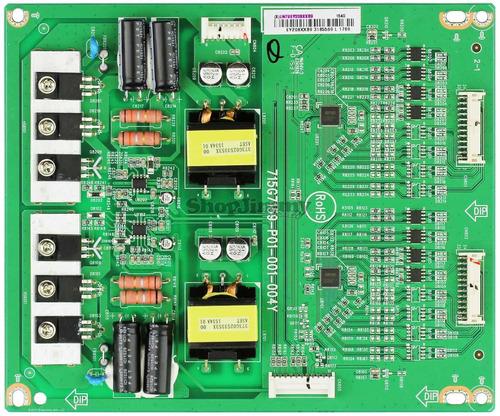 1o* vizio d55u-d1 d50u-d 715g7159-p01-001-004y led driver