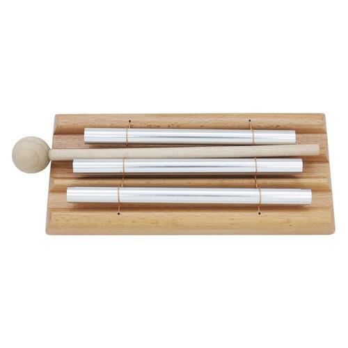 1pc de madera de tres barras de percusión chime 3 tóner in