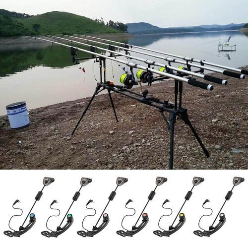 1pc led carp fishing swinger hanger iluminado swinger sensor