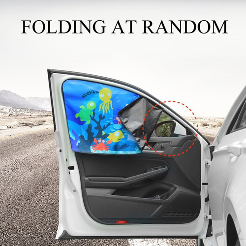 1pc magnético carro lado janela guarda-sol cortinas automá
