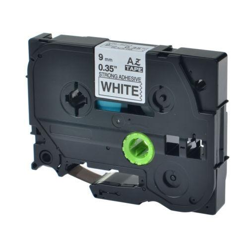 1pk 9mm ex-fuerza negro etiqueta cintas tze-s221 para pt-110