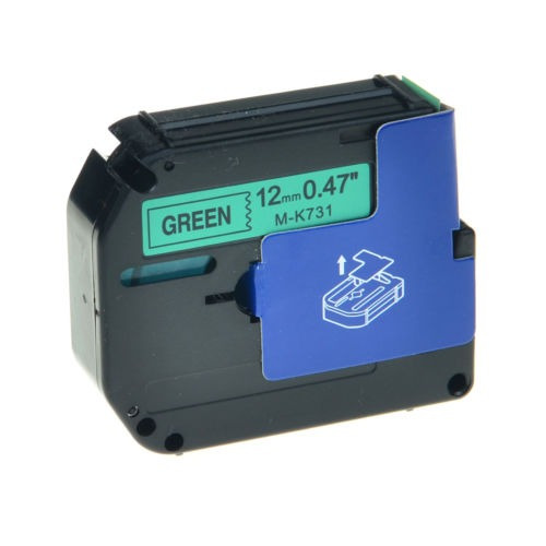 1pk mk-731 mk731 negra en la etiqueta verde cinta para broth