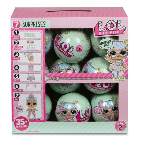 1pz lol surprise outraugeos littles muñecas lol wave serie 2