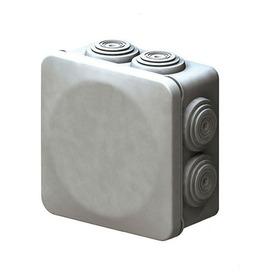 1x Caja Estanca De 8x8x4.5 Cm Ip55 Conos Tapa A Presion