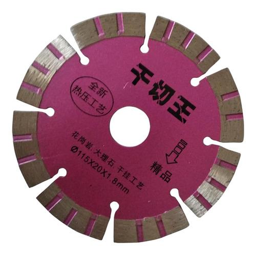 1x disco de corte de diamante seco adecuado para cortar