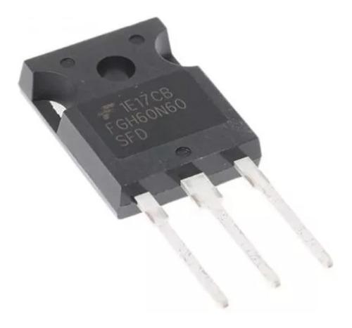 1x transistor igbt n 600v, 60a fgh60n60 fgh60n60sfd 60n60