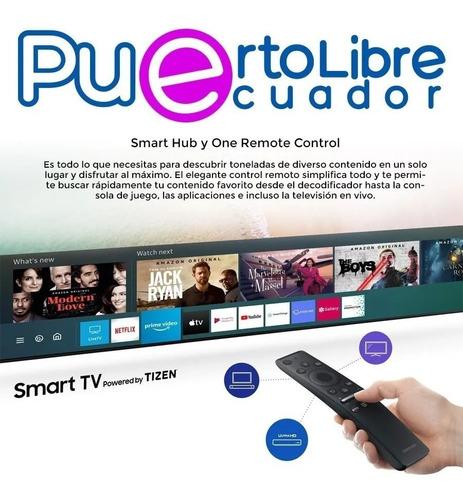 2 0 2 0 importado smart tv samsung 55 4k uhd + regalos 58 60