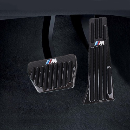 2 1 antideslizante fibra carbono camion pedal freno ga