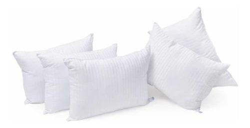 2 + 3 = 5 almohadas microgel hotelera std premium 900grs c/u
