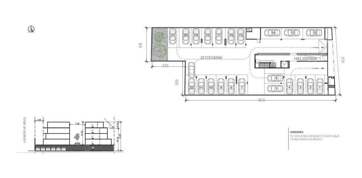 2 , 3 y 4 amb : s/ boulevard : ampl patio terraza