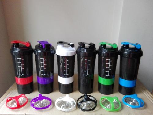 2 × 40 soles-shaker gym 3 compartimientos- envio gratis