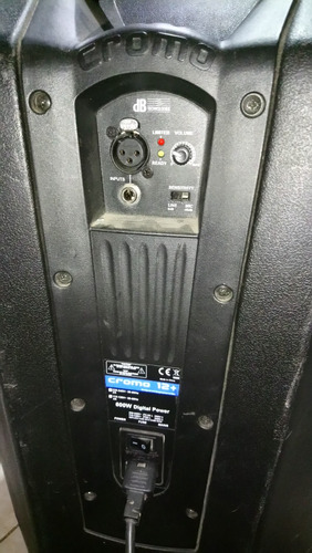 2 activos 12 cromo + db technologies