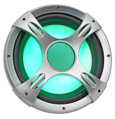 (2) acústica nyc nc12s4 3200w led 12 subwoofer + caja +