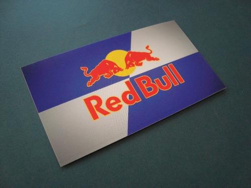 2 adesivos red bull redbull
