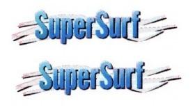 2 adesivos super surf saveiro + brinde 2 unidades frete grát