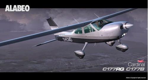 2 aeronaves da alabeo c172/c177 para fsx