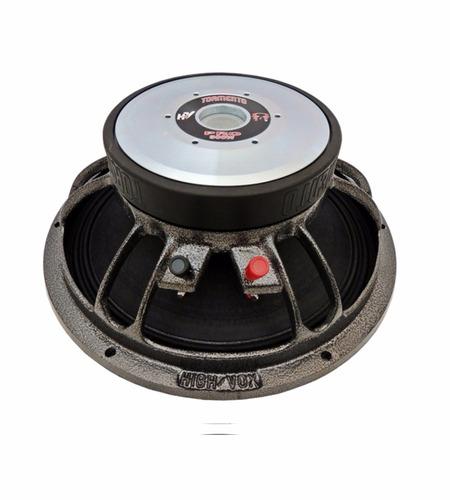 2 alto falante woofer tormento 12 pol. pro 500 wrms 4 r som