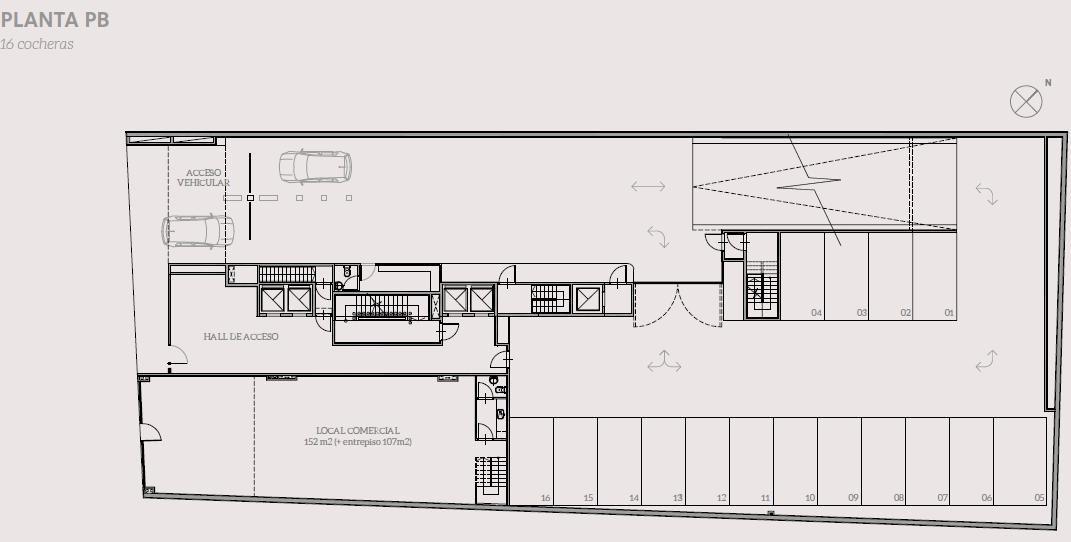 2 amb de 41.99 m2 - calidad de construcción y amenities