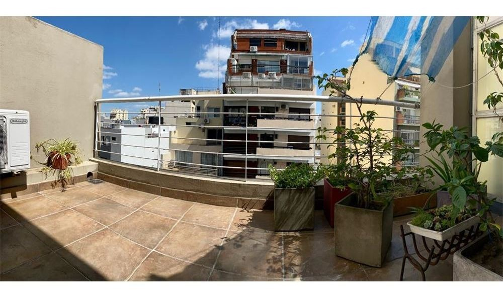 2 amb duplex con 2 terrazas y cochera oportunidad