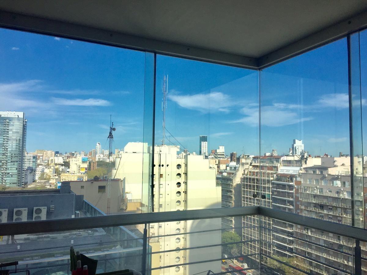 2 amb en piso alto - torre palermo view full amenities