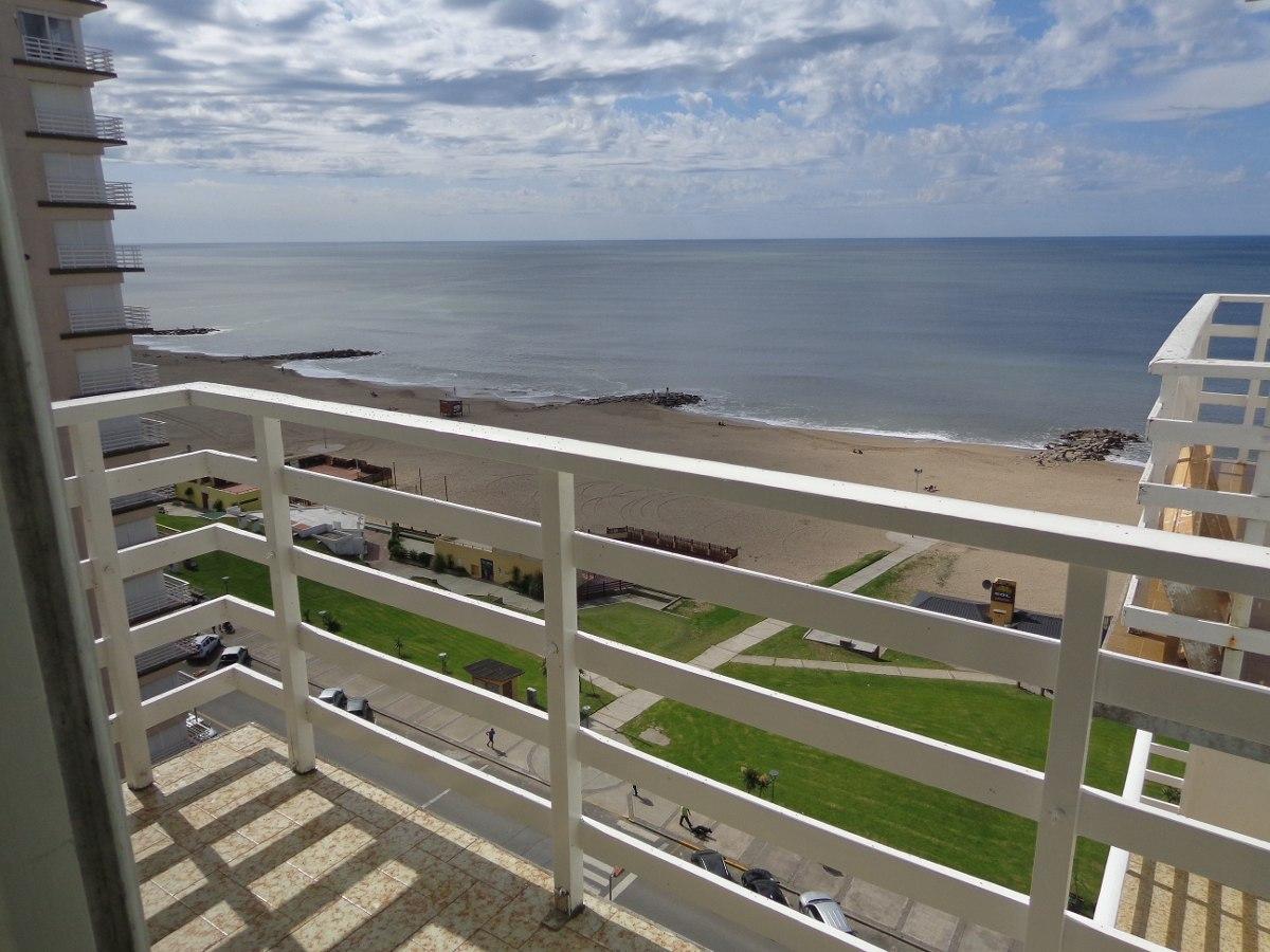 2 amb. exelente vista mar costanera a 50mts. de peatonal