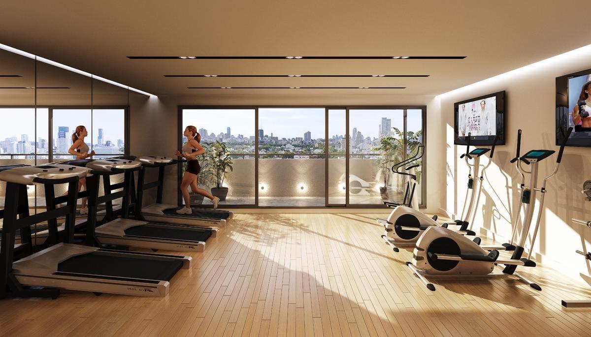 2 ambientes 60 m2. palermo hollywood. entrega diciembre 2020