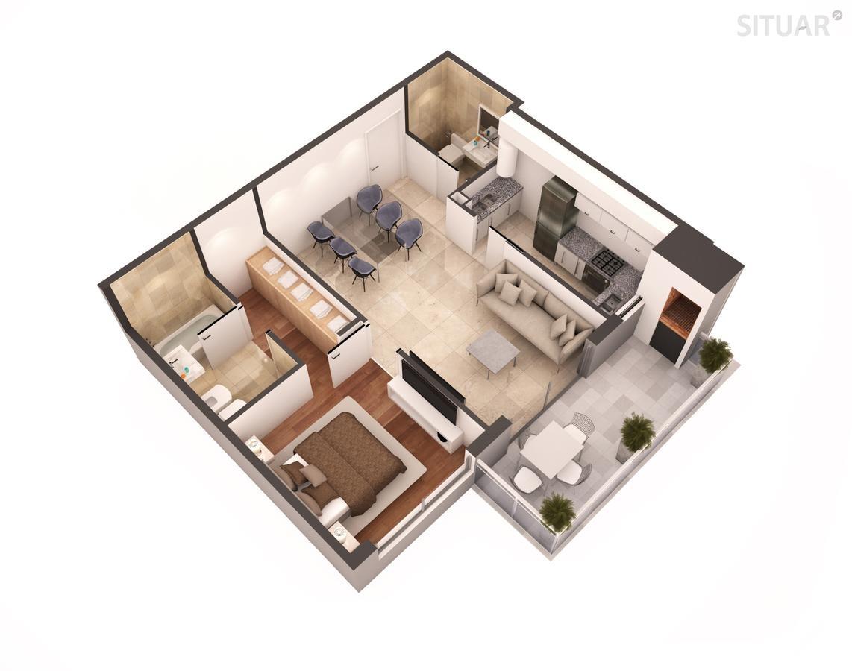 2 ambientes a estrenar amenities caballito pavillon