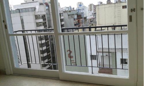 2 ambientes a la calle con balcon macrocentro, mar del plata