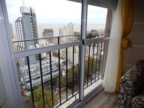 2 ambientes a la calle vista al mar en venta mar del plata