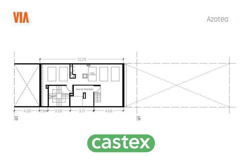 2 ambientes a la venta de pozo en recoleta, viamonte 2100