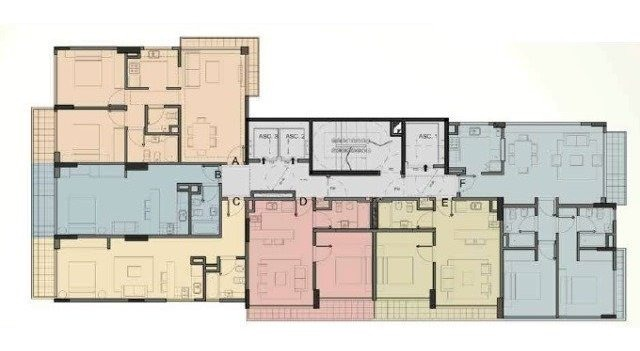 2 ambientes | alberdi, juan b., av. al 800