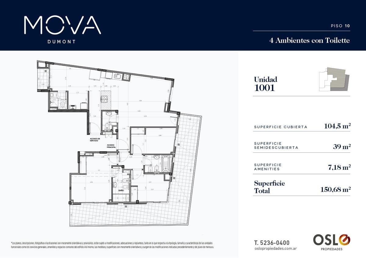 2 ambientes c terraza 85m2 en palermo/colegiales. entrega 2020