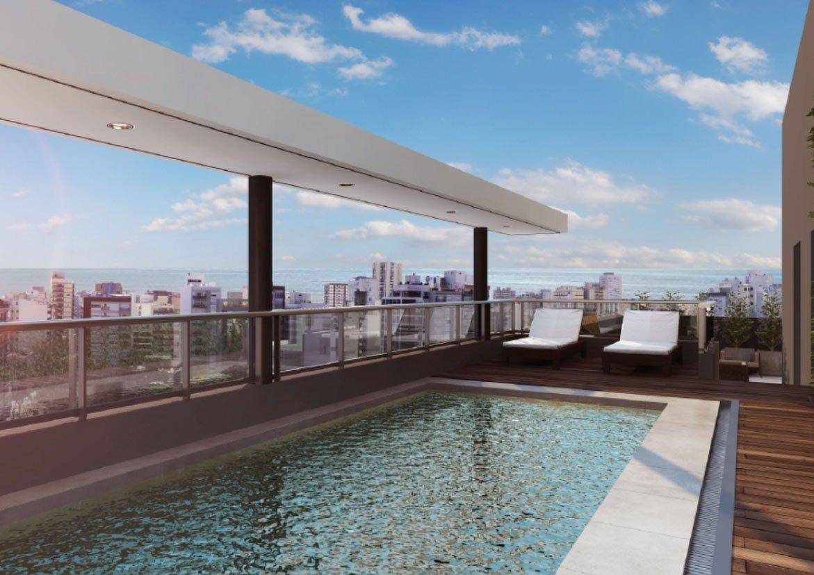 2 ambientes con balcón a la calle edificio a estrenar cronos xix