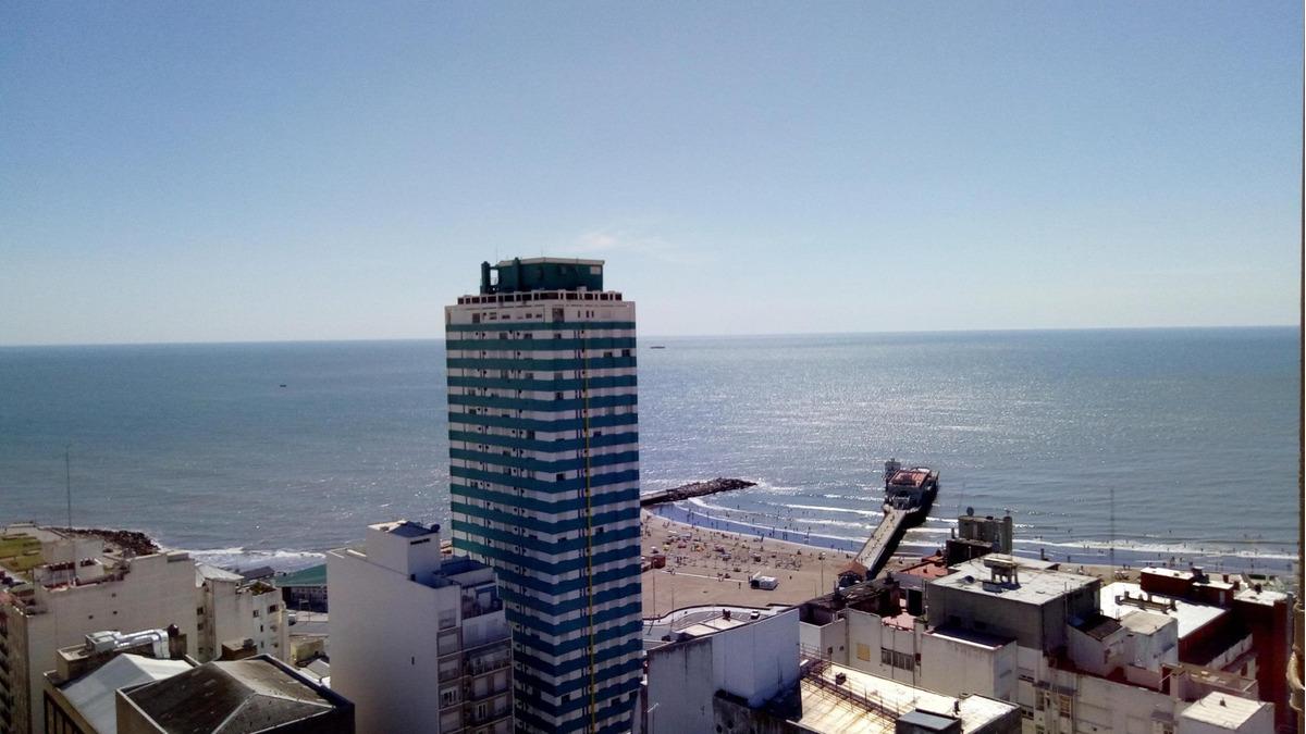 2 ambientes con dep. vista al mar