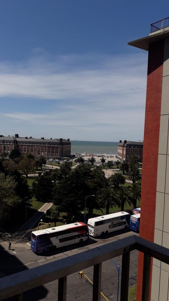 2 ambientes con vista panoramica en plaza colon