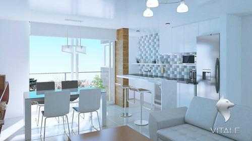 2 ambientes en construccion chauvin