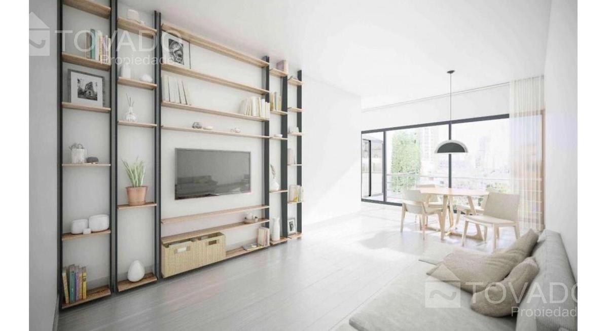 2 ambientes en venta en palermo soho - en construccion!