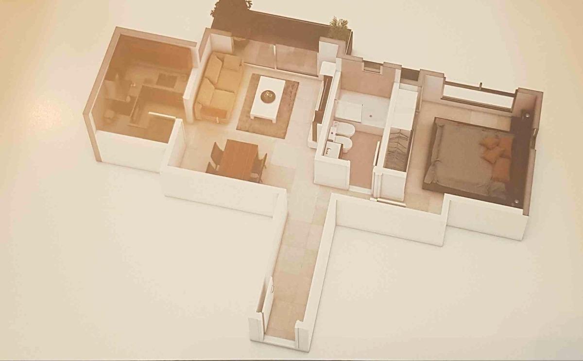2 ambientes frente obra de pozo