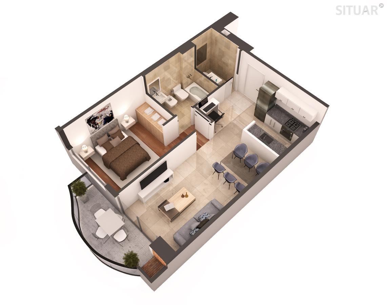 2 ambientes premium pavillon amenities caballito