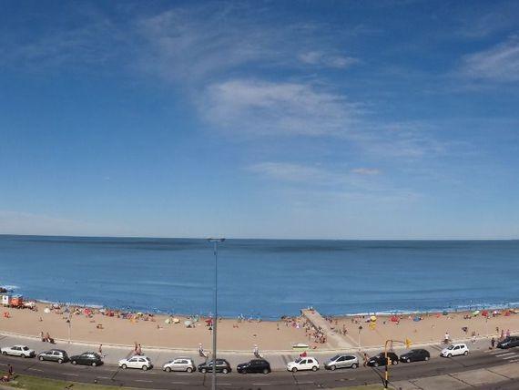2 ambientes vista al mar mar del plata
