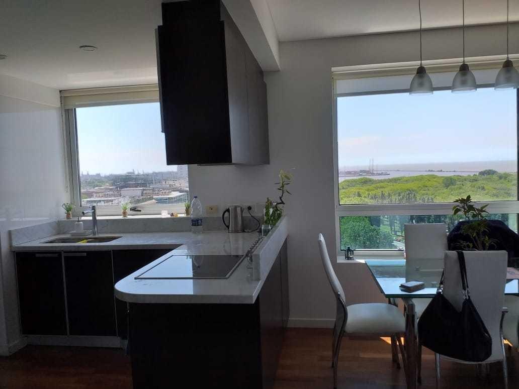 2 ambientes vista al rio c/cochera torres del yacht