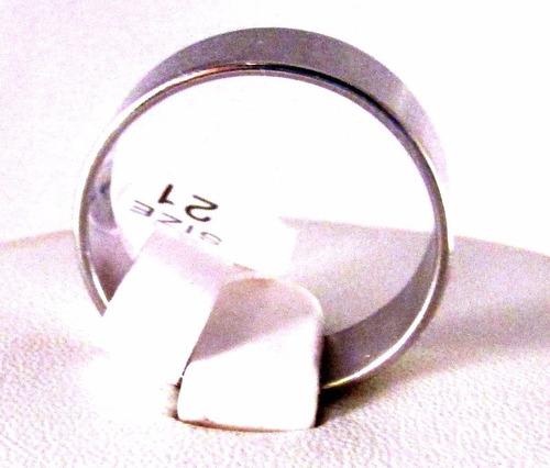 2 anillos acero quirúrgico/padrenuestro/consultar stock/