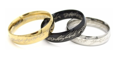 2 anillos del amor señor de los anillos tungsteno regalo
