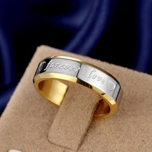 2 anillos forever love matrimonio, compromiso, enamorados