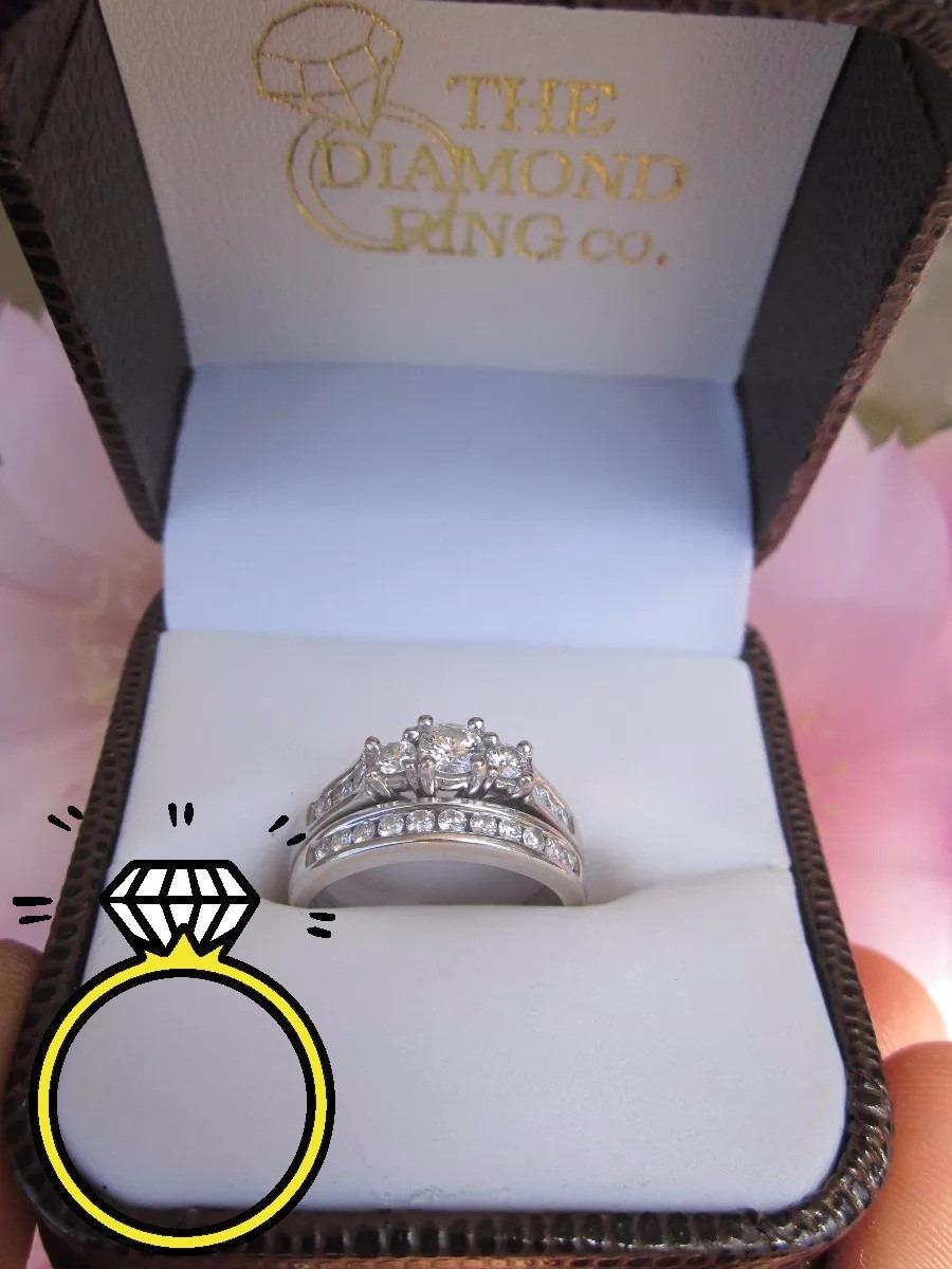 6771893cd83b 2 anillos matrimonio compromiso boda oro 14 k diamantes vvs. Cargando zoom.