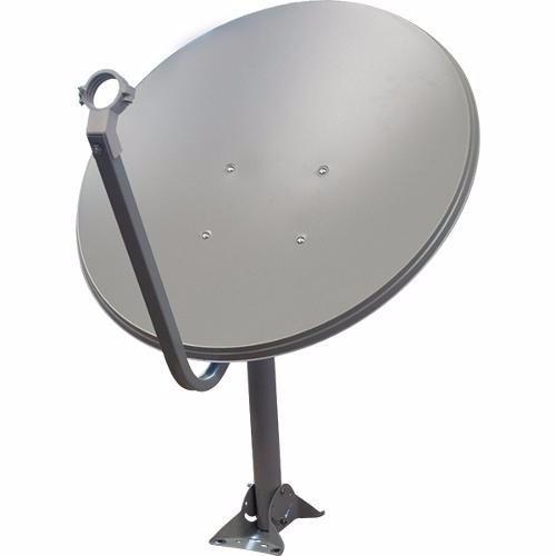 2 antenas ku + 40 metros cabo rg6 /rg59 + lnb duplos